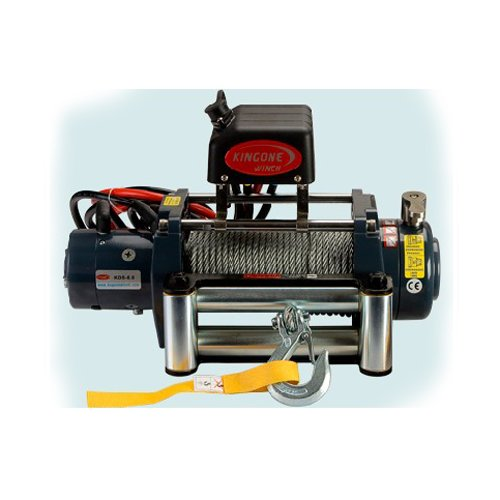 Universal Kds-8.0 8000Lb Pound Electric Recovery Winch 12V Steel Cable Rope