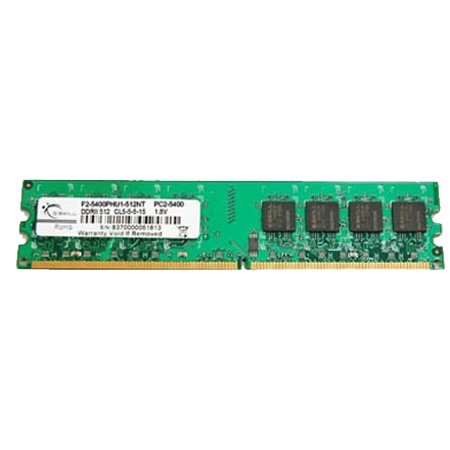 G.Skill DDR2 PC2 6400 1GB, F2-6400CL5S-1GBNT