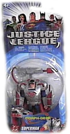 Justice League Morph Gear Superman Action Figure