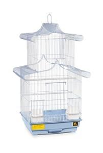 Prevue Hendryx SP1820-5 Pagoda Cockatiel Cage, Blue and White