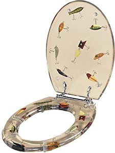 River's Edge Toilet Seat (Fishing Lure)