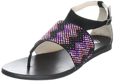 Miss Sixty  PAM Sandals Womens  Black Schwarz (Black G06000) Size: 4 (37 EU)
