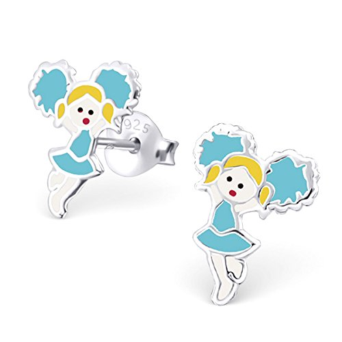 pair-of-small-sterling-silver-blue-cheerleader-girl-earrings-with-gift-box