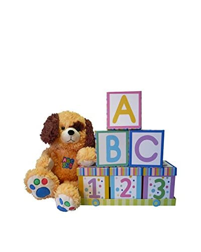 Art of Appreciation Gift Baskets ABCs & 123s Baby Gift Family Gift Set with a Teddy Bear