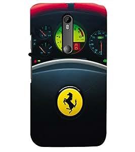 PRINTSHOPPII SPORTS CAR Back Case Cover for Motorola Moto G3::Motorola Moto G (3rd Gen)