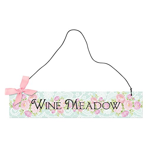 Epic Products Wine Meadow Hanging Sign, Multicolor