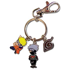 Naruto: Metal Key Chain - Group