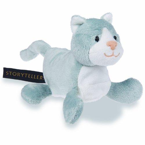 "Mary Meyer StoryTeller Stuffed Animal Gracie Cat 5"" - 1"