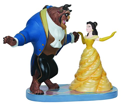 Precious Moments Disney Ltd Ed Belle and Beast Figurine