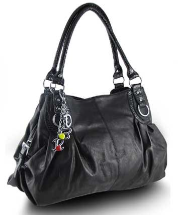 Large Charm Hobo Handbag