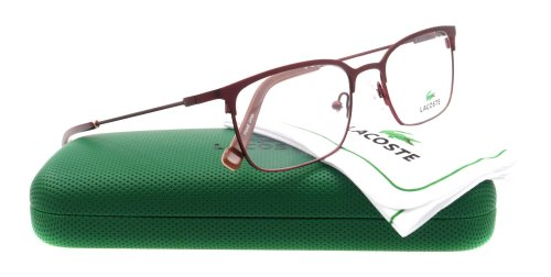 Lacoste Eyeglasses LA BURGUNDY 53MM 2107 615 LA2107