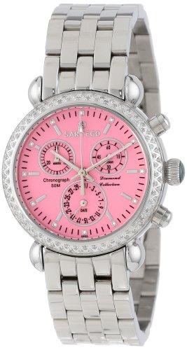 Sartego Women's SDPK183P Diamond Collection Swiss Quartz Movement Watch