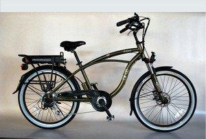 EG Oahu Electric Bike - Glossy Metallic Army Green