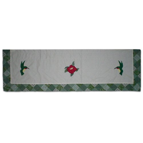 Patch Magic Hummingbird Curtain Valance, 54-Inch
