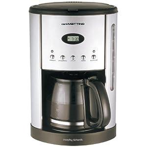 Morphy Richards Cafe Mattino 47070 Programmable Filter Coffee Maker Machine NEW 4008874134469 eBay
