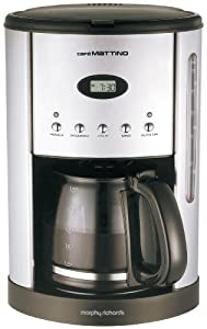 Morphy Richards Cafe Mattino 47070 Programmable Filter Coffee Maker - Stainless Steel: Amazon.co ...