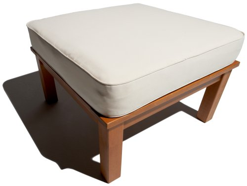 Strathwood Balboa Deep Seat Ottoman with Cushion