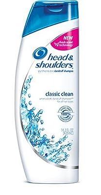 Head and Shoulders dandruff shampoo, classic clean - 14.2 oz