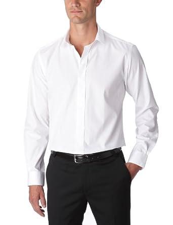 Gaspard Yurkievich - Chemise - À Logo - Coton - Homme - Blanc - Small