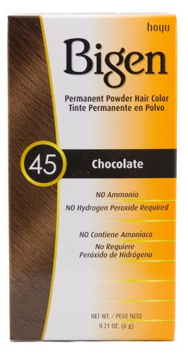 bigen 45 chocolate permanent hair color permpowder bogo
