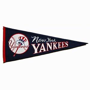 New York Yankees MLB Cooperstown Pennant  by Winning Streak