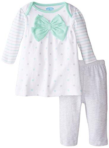 BON BEBE Baby-Girls Bow and Legging Set, 3-6 Months