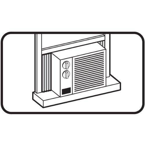 Air Conditioner Foam Insulating Panels : M d building products air conditioner side panel kit