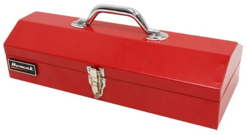Images for HOMAK RD00116616 16-Inch Steel Hip-Roof Tool Box Red