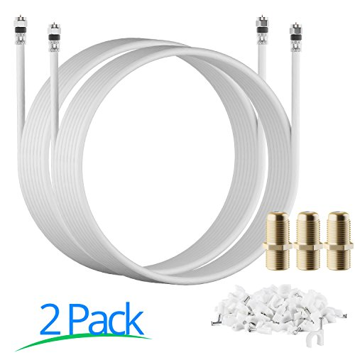 rg-6-20-ft-white-2-pack-ul-cl2-certified-cable-quad-shielded-coaxial-cable-for-satellite-tv-high-spe