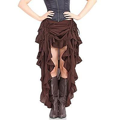 Skirt for corsets