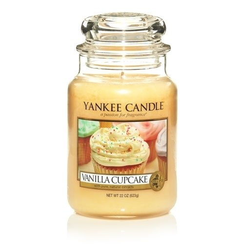 Candle company vanilla cupcake large jar candle home garden decor