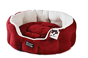 """Do """"Not"""" Disturb - Soft Bedding Luxury Bed Size: 61 cm W, Colour: Red"""