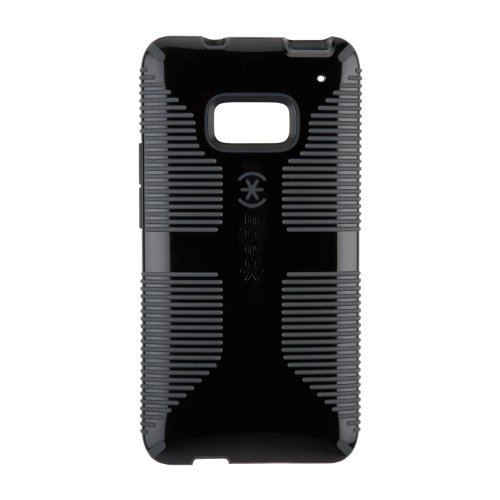 Speck Products Spk-A1981 Candyshell Grip Case For Htc One Smartphone - 1 Pack - Retail Packaging - Black/Slate