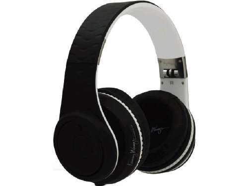 Fanny Wang Over Ear DJ Headphones with Remote and Carry Case