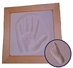 Amazon Com Baby S First Handprint And Footprint Plaster