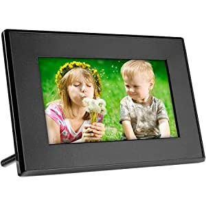 SecureGuard HD 720p Digital Photo Picture Frame Residential Spy Camera Covert Hidden Nanny Camera Spy Gadget (New Cost Efficient Line)