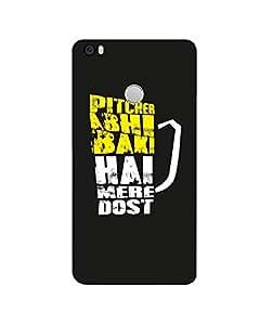 GripIt PITCHER ABHI BAHI HAI Printed Case for Xiaomi Mi Max