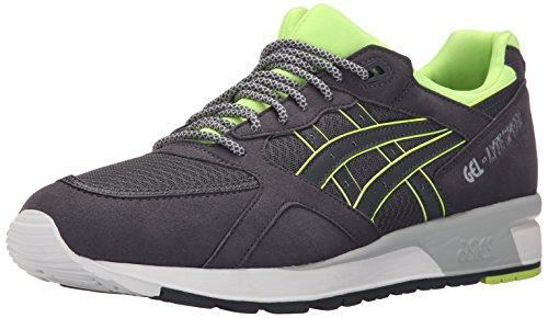 ASICS GEL Lyte Speed Retro Running Shoe, Dark Grey/Dark Grey, 7 M US