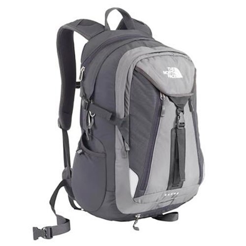 The North Face Surge Backpack - Zinc Grey