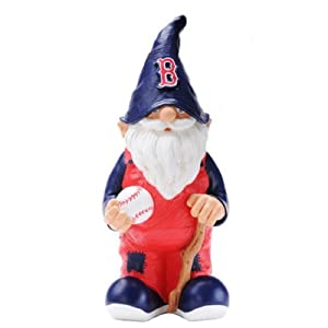 MLB Boston Red Sox Garden Gnome by Forever Collectibles