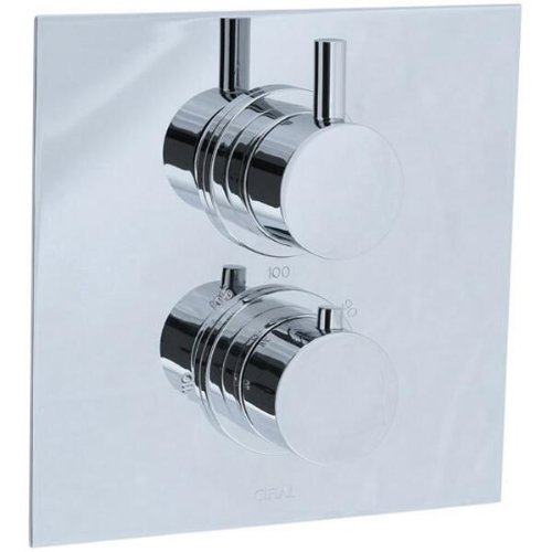 cifial-221614625-techno-thermostatic-valve-trim-with-volume-control-polished-chrome-by-cif-sp