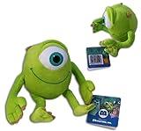 Mike 8'' Michael Wazowski Plush Monsters Inc Green Monster Eyeball Pixar Disney Soft Toy