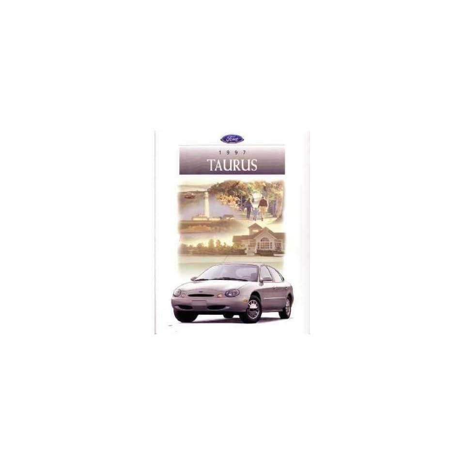 1997 Ford Taurus Sales Brochure Literature Book Piece Dealer Advertisement