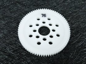 3Racing #3R/3Rac-Sg4876 48 Pitch Spur Gear 76T For Most Rc Cars