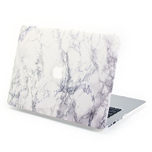 macbook-air-13-case-gmyle-hard-case-print-frosted-for-macbook-air-13-inch-model-a1369-and-a1466-whit