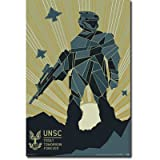 Trends Intl. Halo Forward Poster, 24-Inch by 36-Inch