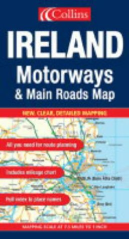 Ireland (Motorways & Main Roads Map) PDF