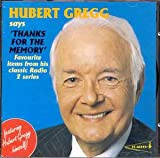 Various Artists Hubert Gregg Says 'thanks For The Memory': Favourite Items From His Classic Radio 2 Series;Featuring Hu