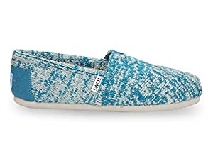 Toms Women's Classic Knit Celestial Blue Casual Shoe 8.5 Women US