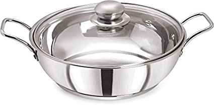 Pristine-KD25-Sandwich-Base-Induction-Kadai-With-Glass-Lid-(3-L)